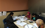 Nursing academic staff reviewing final winter semester exams
