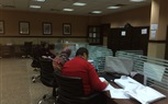the staff members at the faculty of Management were working on the final results