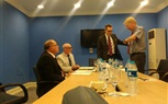 A delegation from the University of Wales started their meetings in the University