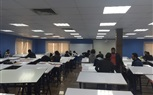 The students of the faculty continued their registration while others started their lectures and Labs