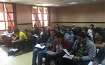 Students of the Faculty of Management attending morning lectures