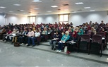 Students of the Faculty of Dintestry attending morning lectures