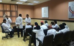 The Students of the Faculty of Nursing continued their Practical training