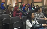 Students of the Faculty of Mass Communication are attending their morning lecture