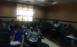 The Students of the Faculty of Computer Science were busy today having their Lectures and Sections