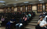 Students of the Faculty of Management are attending their morning lecture
