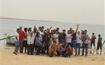The students of the Faculty of Engineering spent Saturday at Wadi El-Rayan