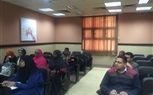 Students of the Faculty of Nursing were very busy having their lectures