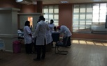 Students of the Faculty of Nursing continued their Practical Labs today at the Clinical Skill Lab