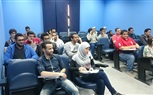 Students of the Faculty of Engineering during attending a practical session in the lab