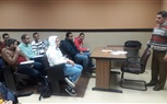The Students of the Faculty of Computer Science were very busy having their Lectures, Sections, and Labs